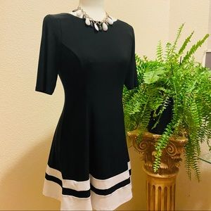 Cocktail Dress in black and white size MP